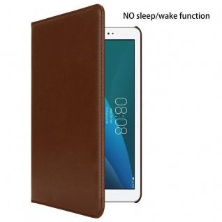 """"""" Cadorabo Tablet Hülle für Huawei MediaPad T1 10 (10, 0"""" Zoll) in PILZ BRAUN ? Book Style Schutzhülle OHNE Auto Wake Up mit Standfunktion und Gummiband Verschluss"""" - Vorschau 2"""
