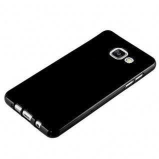 Cadorabo Hülle für Samsung Galaxy A5 2015 in JELLY SCHWARZ - Handyhülle aus flexiblem TPU Silikon - Silikonhülle Schutzhülle Ultra Slim Soft Back Cover Case Bumper - Vorschau 2