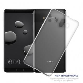 Cadorabo Hülle für Huawei MATE 10 in VOLL TRANSPARENT - Handyhülle aus flexiblem TPU Silikon - Silikonhülle Schutzhülle Ultra Slim Soft Back Cover Case Bumper - Vorschau 4