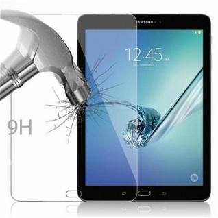 Cadorabo Panzer Folie für Samsung Galaxy Tab S2 (9.7 Zoll) - Schutzfolie in KRISTALL KLAR - Gehärtetes (Tempered) Display-Schutzglas in 9H Härte mit 3D Touch Kompatibilität - Vorschau 3