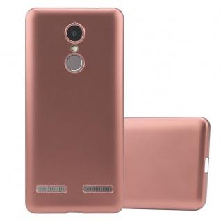 Cadorabo Hülle für Lenovo K6 / K6 POWER in METALLIC ROSÉ GOLD - Handyhülle aus flexiblem TPU Silikon - Silikonhülle Schutzhülle Ultra Slim Soft Back Cover Case Bumper - Vorschau 1