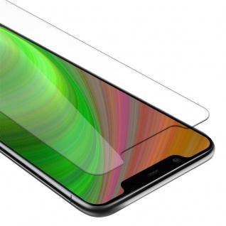 Cadorabo Panzer Folie für Nokia 8.1 2018 Schutzfolie in KRISTALL KLAR Gehärtetes (Tempered) Display-Schutzglas in 9H Härte mit 3D Touch Kompatibilität