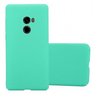 Cadorabo Hülle für Xiaomi Mi Mix 2 in FROSTY GRÜN - Hardcase Handyhülle aus Plastik gegen Kratzer und Stöße - Schutzhülle Bumper Ultra Slim Back Case Hard Cover