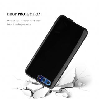 Cadorabo Hülle für Honor 9 in SCHWARZ - Handyhülle aus flexiblem TPU Silikon - Silikonhülle Schutzhülle Ultra Slim Soft Back Cover Case Bumper - Vorschau 5
