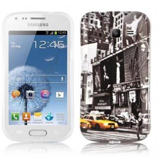 Cadorabo - Hard Cover für Samsung Galaxy TREND LITE - Case Cover Schutzhülle Bumper im Design: NEW YORK CAB - Vorschau 1