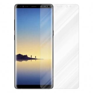 Cadorabo Panzer Folie für Samsung Galaxy NOTE 8 - Schutzfolie in KRISTALL KLAR - Gehärtetes (Tempered) Display-Schutzglas in 9H Härte mit 3D Touch Kompatibilität - Vorschau 2