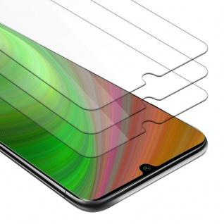 Cadorabo 3x Panzer Folie für Xiaomi RedMi Note 10 - Schutzfolie in KRISTALL KLAR - 3er Pack Gehärtetes (Tempered) Display-Schutzglas in 9H Härte mit 3D Touch Kompatibilität