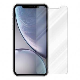 Cadorabo Panzer Folie für Apple iPhone XR - Schutzfolie in KRISTALL KLAR - Gehärtetes (Tempered) Display-Schutzglas in 9H Härte mit 3D Touch Kompatibilität - Vorschau 2