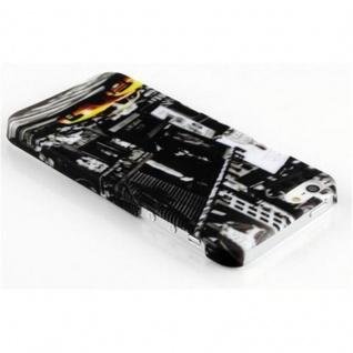 Cadorabo - Hard Cover für Apple iPhone 5 / iPhone 5S / iPhone SE - Case Cover Schutzhülle Bumper im Design: NEW YORK CAB - Vorschau 2