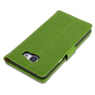 Cadorabo Hülle für Samsung Galaxy A5 2016 in GRAS GRÜN ? Handyhülle mit Magnetverschluss, Standfunktion und Kartenfach ? Case Cover Schutzhülle Etui Tasche Book Klapp Style - Vorschau 5