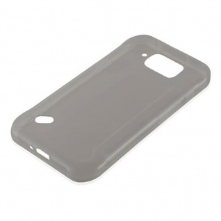 Cadorabo Hülle für Samsung Galaxy S6 ACTIVE in TRANSPARENT SCHWARZ - Handyhülle aus flexiblem TPU Silikon - Silikonhülle Schutzhülle Ultra Slim Soft Back Cover Case Bumper - Vorschau 2
