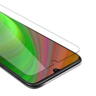 Cadorabo Panzer Folie für Samsung Galaxy M31 Schutzfolie in KRISTALL KLAR Gehärtetes (Tempered) Display-Schutzglas in 9H Härte mit 3D Touch Kompatibilität