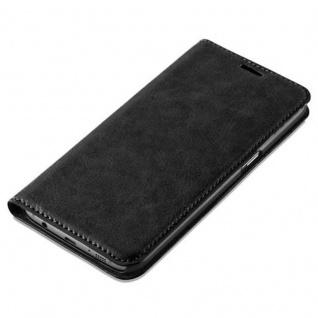 Cadorabo Hülle für Samsung Galaxy S7 EDGE in NACHT SCHWARZ - Handyhülle mit Magnetverschluss, Standfunktion und Kartenfach - Case Cover Schutzhülle Etui Tasche Book Klapp Style - Vorschau 4