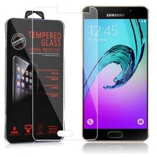 Cadorabo Panzer Folie für Samsung Galaxy A5 2015 - Schutzfolie in KRISTALL KLAR - Gehärtetes (Tempered) Display-Schutzglas in 9H Härte mit 3D Touch Kompatibilität