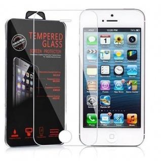 Cadorabo Panzer Folie für Apple iPhone 5 / 5S / SE - Schutzfolie in KRISTALL KLAR - Gehärtetes (Tempered) Display-Schutzglas in 9H Härte mit 3D Touch Kompatibilität - Vorschau 2