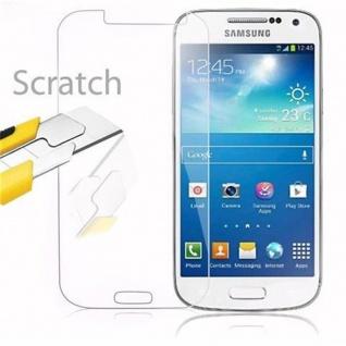 Cadorabo Panzer Folie für Samsung Galaxy S4 MINI - Schutzfolie in KRISTALL KLAR - Gehärtetes (Tempered) Display-Schutzglas in 9H Härte mit 3D Touch Kompatibilität - Vorschau 2