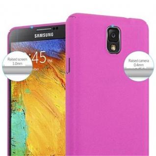 Cadorabo Hülle für Samsung Galaxy NOTE 3 in FROSTY PINK - Hardcase Handyhülle aus Plastik gegen Kratzer und Stöße - Schutzhülle Bumper Ultra Slim Back Case Hard Cover - Vorschau 5