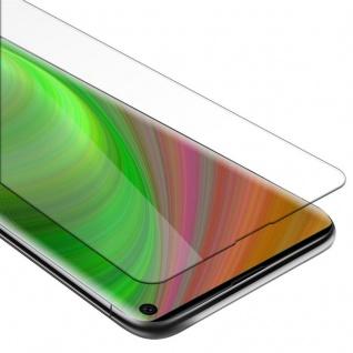Cadorabo Panzer Folie für Samsung Galaxy S10 Schutzfolie in KRISTALL KLAR Gehärtetes (Tempered) Display-Schutzglas in 9H Härte mit 3D Touch Kompatibilität
