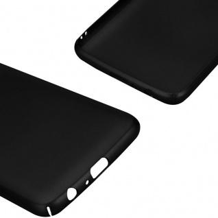 Cadorabo Hülle für Motorola MOTO G5 PLUS in METALL SCHWARZ - Hardcase Handyhülle aus Plastik gegen Kratzer und Stöße - Schutzhülle Bumper Ultra Slim Back Case Hard Cover - Vorschau 5