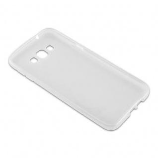 Cadorabo Hülle für Samsung Galaxy A8 2015 in HALB TRANSPARENT - Handyhülle aus flexiblem TPU Silikon - Silikonhülle Schutzhülle Ultra Slim Soft Back Cover Case Bumper - Vorschau 3