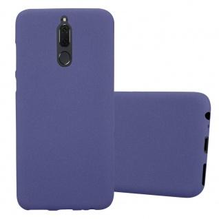 Cadorabo Hülle für Huawei MATE 10 LITE in FROST DUNKEL BLAU - Handyhülle aus flexiblem TPU Silikon - Silikonhülle Schutzhülle Ultra Slim Soft Back Cover Case Bumper