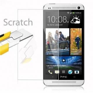 Cadorabo Panzer Folie für HTC ONE M7 (1.Gen.) - Schutzfolie in KRISTALL KLAR - Gehärtetes (Tempered) Display-Schutzglas in 9H Härte mit 3D Touch Kompatibilität - Vorschau 2
