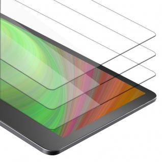 Cadorabo 3x Panzer Folie für Kindle Oasis 2017 (9. Gen.) - Schutzfolie in KRISTALL KLAR - 3er Pack Gehärtetes (Tempered) Display-Schutzglas in 9H Härte mit 3D Touch Kompatibilität