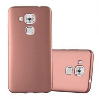 Cadorabo Hülle für Huawei NOVA PLUS in METALLIC ROSE GOLD - Handyhülle aus flexiblem TPU Silikon - Silikonhülle Schutzhülle Ultra Slim Soft Back Cover Case Bumper