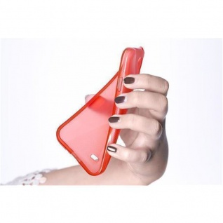 Cadorabo Hülle für Samsung Galaxy A5 2016 in INFERNO ROT - Handyhülle aus flexiblem TPU Silikon - Silikonhülle Schutzhülle Ultra Slim Soft Back Cover Case Bumper - Vorschau 3