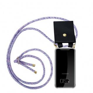 Cadorabo Handy Kette für Samsung Galaxy S8 PLUS in UNICORN Silikon Necklace Umhänge Hülle mit Gold Ringen, Kordel Band Schnur und abnehmbarem Etui Schutzhülle
