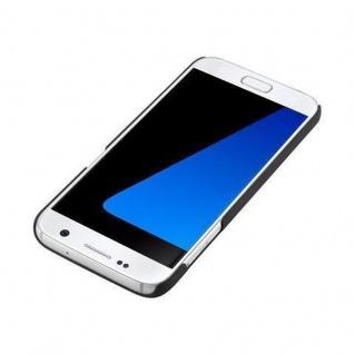 Cadorabo Hülle für Samsung Galaxy S7 in WOODY BRAUN ? Hardcase Handyhülle aus Plastik gegen Kratzer und Stöße ? Schutzhülle Bumper Ultra Slim Back Case Hard Cover - Vorschau 4