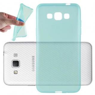 Cadorabo Hülle für Samsung Galaxy GRAND 3 - Hülle in TRANSPARENT BLAU ? Handyhülle aus TPU Silikon im Ultra Slim 'AIR' Design - Ultra Slim Soft Backcover Case Bumper