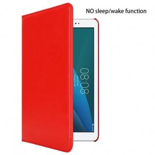 """"""" Cadorabo Tablet Hülle für Huawei MediaPad T1 10 (10, 0"""" Zoll) in MOHN ROT ? Book Style Schutzhülle OHNE Auto Wake Up mit Standfunktion und Gummiband Verschluss"""" - Vorschau 2"""