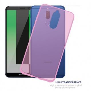Cadorabo Hülle für Huawei MATE 10 LITE in TRANSPARENT PINK - Handyhülle aus flexiblem TPU Silikon - Silikonhülle Schutzhülle Ultra Slim Soft Back Cover Case Bumper - Vorschau 5