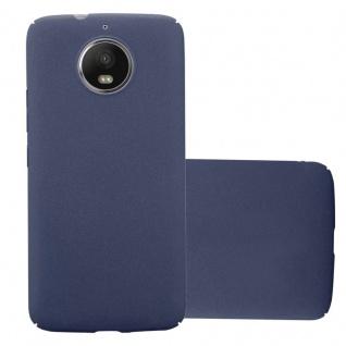 Cadorabo Hülle für Motorola MOTO G5S in FROSTY BLAU - Hardcase Handyhülle aus Plastik gegen Kratzer und Stöße - Schutzhülle Bumper Ultra Slim Back Case Hard Cover