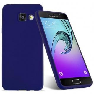 Cadorabo Hülle für Samsung Galaxy A3 2016 in CANDY DUNKEL BLAU - Handyhülle aus flexiblem TPU Silikon - Silikonhülle Schutzhülle Ultra Slim Soft Back Cover Case Bumper - Vorschau 2
