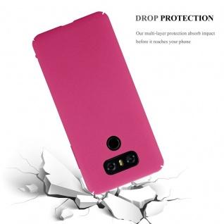 Cadorabo Hülle für LG G6 in FROSTY PINK - Hardcase Handyhülle aus Plastik gegen Kratzer und Stöße - Schutzhülle Bumper Ultra Slim Back Case Hard Cover - Vorschau 4