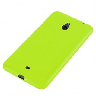 Cadorabo Hülle für Nokia Lumia 1320 in JELLY GRÜN ? Handyhülle aus flexiblem TPU Silikon ? Silikonhülle Schutzhülle Ultra Slim Soft Back Cover Case Bumper - Vorschau 3