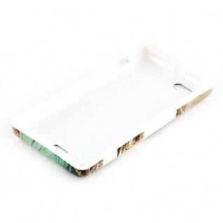 Cadorabo - Hard Cover für Sony Xperia M - Case Cover Schutzhülle Bumper im Design: NEW YORK - FREIHEITSSTATUE - Vorschau 4