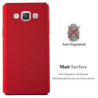 Cadorabo Hülle für Samsung Galaxy A5 2015 in METALL ROT ? Hardcase Handyhülle aus Plastik gegen Kratzer und Stöße ? Schutzhülle Bumper Ultra Slim Back Case Hard Cover - Vorschau 2