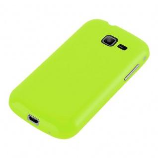 Cadorabo Hülle für Samsung Galaxy TREND LITE in JELLY GRÜN ? Handyhülle aus flexiblem TPU Silikon ? Silikonhülle Schutzhülle Ultra Slim Soft Back Cover Case Bumper - Vorschau 5