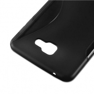 Cadorabo Hülle für Samsung Galaxy A9 2016 in OXID SCHWARZ ? Handyhülle aus flexiblem TPU Silikon ? Silikonhülle Schutzhülle Ultra Slim Soft Back Cover Case Bumper - Vorschau 5