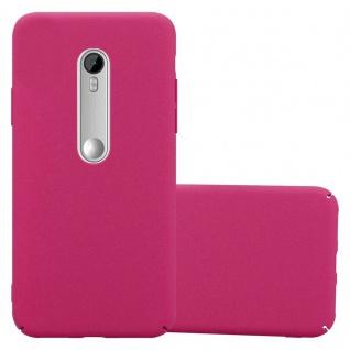 Cadorabo Hülle für Motorola MOTO G3 in FROSTY PINK Hardcase Handyhülle aus Plastik gegen Kratzer und Stöße Schutzhülle Bumper Ultra Slim Back Case Hard Cover
