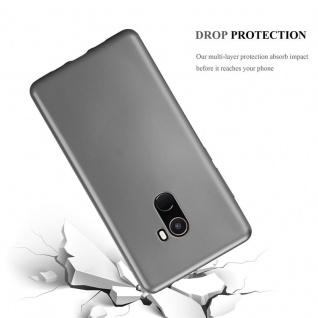 Cadorabo Hülle für Xiaomi Mi Mix 2 in METALLIC GRAU - Handyhülle aus flexiblem TPU Silikon - Silikonhülle Schutzhülle Ultra Slim Soft Back Cover Case Bumper - Vorschau 3