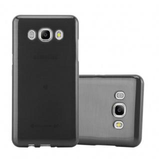 Cadorabo Hülle für Samsung Galaxy J5 2016 in SCHWARZ - Handyhülle aus flexiblem TPU Silikon - Silikonhülle Schutzhülle Ultra Slim Soft Back Cover Case Bumper - Vorschau 1
