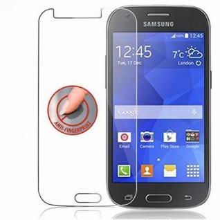 Cadorabo Panzer Folie für Samsung Galaxy ACE 4 - Schutzfolie in KRISTALL KLAR - Gehärtetes (Tempered) Display-Schutzglas in 9H Härte mit 3D Touch Kompatibilität - Vorschau 3