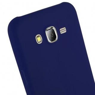 Cadorabo Hülle für Samsung Galaxy J7 2015 in CANDY DUNKEL BLAU - Handyhülle aus flexiblem TPU Silikon - Silikonhülle Schutzhülle Ultra Slim Soft Back Cover Case Bumper - Vorschau 5
