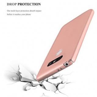 Cadorabo Hülle für LG G5 in METALL ROSE GOLD ? Hardcase Handyhülle aus Plastik gegen Kratzer und Stöße ? Schutzhülle Bumper Ultra Slim Back Case Hard Cover - Vorschau 5