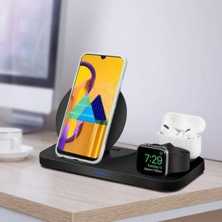 Cadorabo Hülle für Huawei P20 LITE Hülle in Dunkelgrün weiß gold Marmor No.6 Handyhülle aus TPU Silikon mit Muster Mosaik Silikonhülle Schutzhülle Ultra Slim Back Cover Case Bumper - Vorschau 3