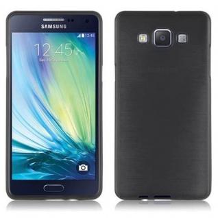 Cadorabo Hülle für Samsung Galaxy A5 2015 in SCHWARZ - Handyhülle aus flexiblem TPU Silikon - Silikonhülle Schutzhülle Ultra Slim Soft Back Cover Case Bumper